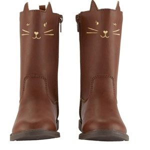 Carter's Tall Kitty Cat Boots Size 4 Toddler